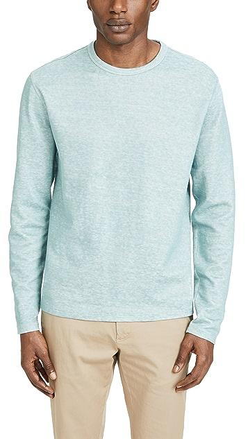 Vince Double Knit Crew Neck Shirt