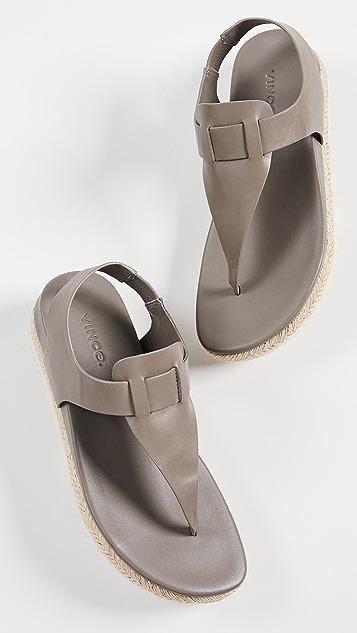 Vince Flint Flatform Thong Sandals