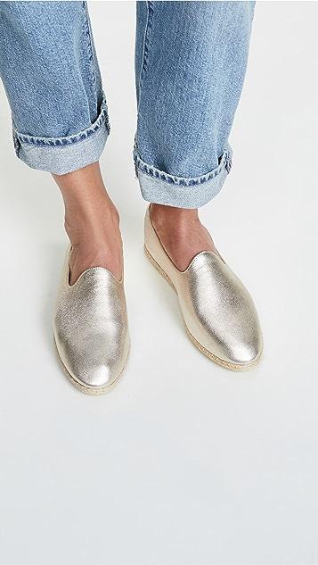 Vince Malia 编织底便鞋