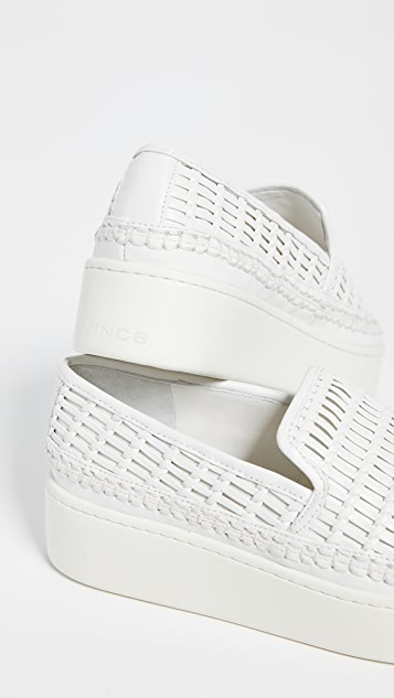 Vince Stafford Platform Slip On Sneakers