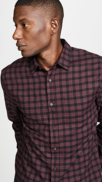 Vince Gingham Classic Shirt