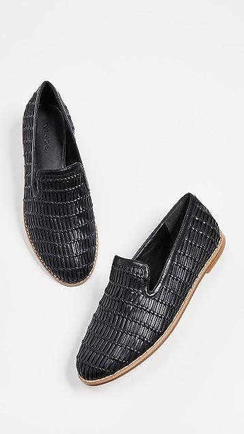 Vince Jonah 梭织乐福鞋