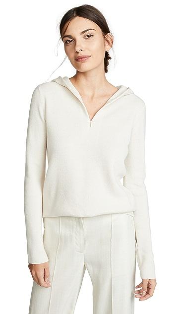 Vince Half Zip Hoodie Sweater