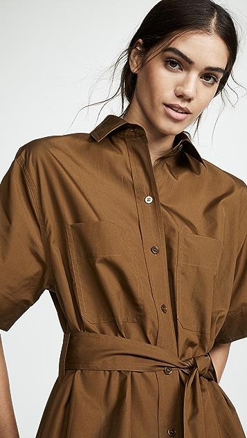 Vince Платье-рубашка Utility