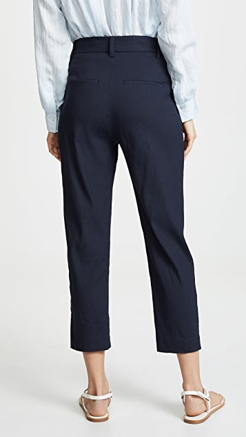 Vince Tapered High Waist Crop Pants