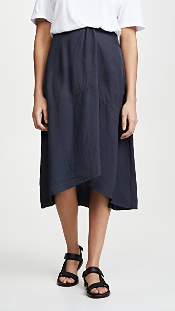 Vince Twist Drape Skirt
