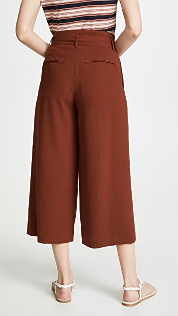 Vince Belted Culottes