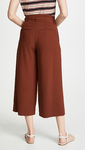 Vince Юбка-брюки с поясом