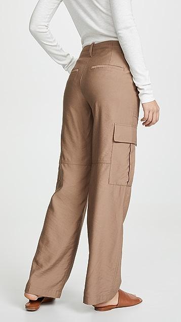 Vince Широкие брюки карго