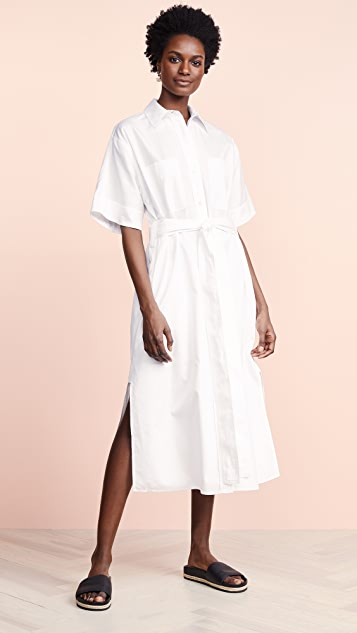 Vince Utility Shirtdress