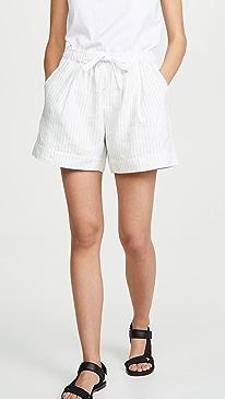 Pencil Stripe Shorts