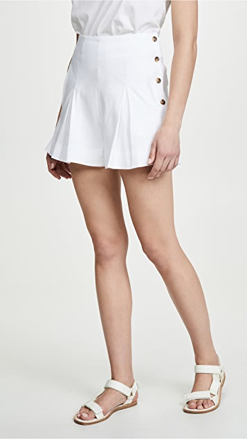 Vince Pleat Front Shorts