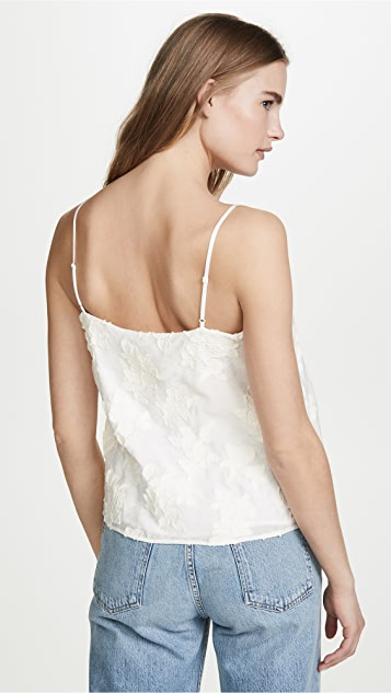Vince Textured Floral Cami
