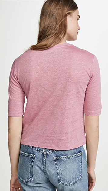 Vince Elbow Sleeve Crew Tee