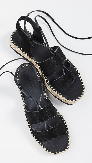 Vince Tibor Wrap Sandals