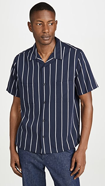 Vince Cabana Striped Shirt