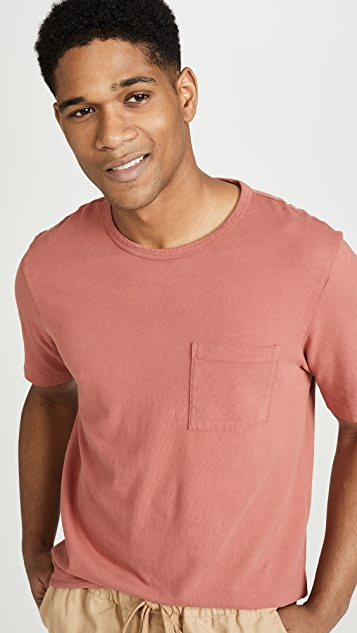 Vince Short Sleeve Pocket Tee