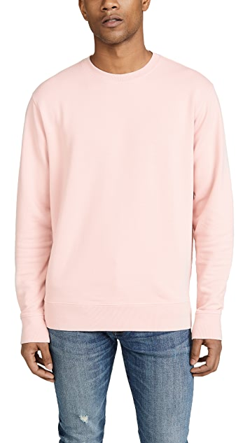 Vince Long Sleeve Crew Neck Sweatshirt