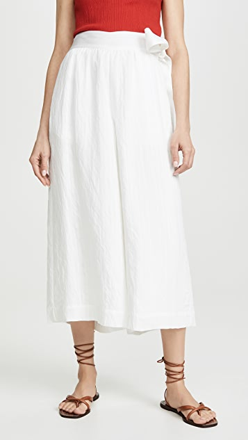 Vince Side Tie Culottes