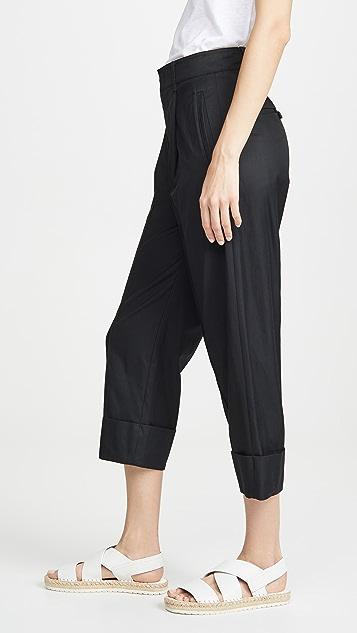 Vince Широкие брюки с манжетами