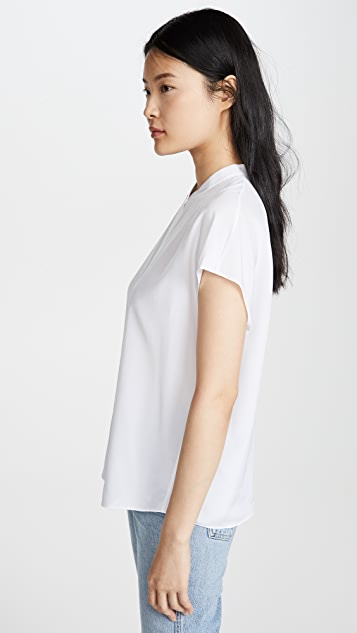 Vince Back Slit Blouse