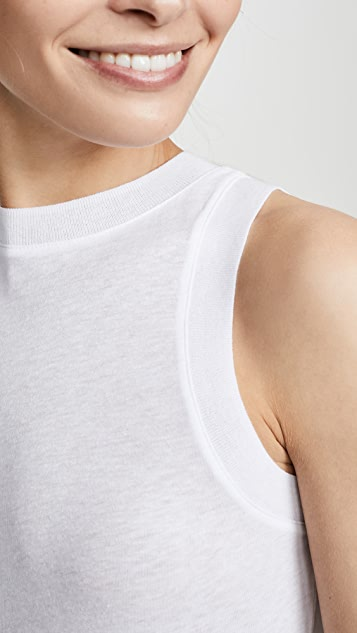 Vince Sweater Trim Tank