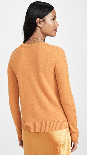 Vince Runner Rib Cashmere Sweater