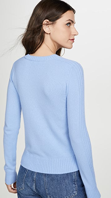 Vince Runner Rib Cashmere Sweater