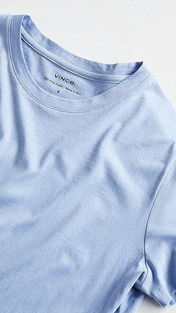 Vince 基本款圆领 T 恤