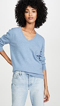 Weekend Cashmere V Neck Sweater