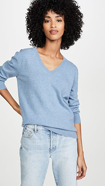 Vince Weekend Cashmere V Neck Sweater