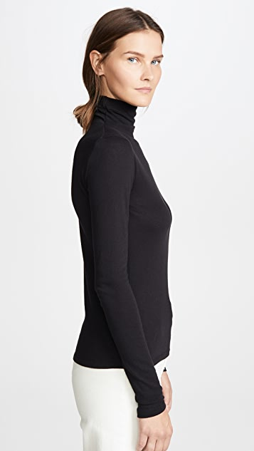 Vince Essential Long Sleeve Turtleneck