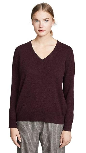 Vince Weekend Cashmere V Neck Sweater