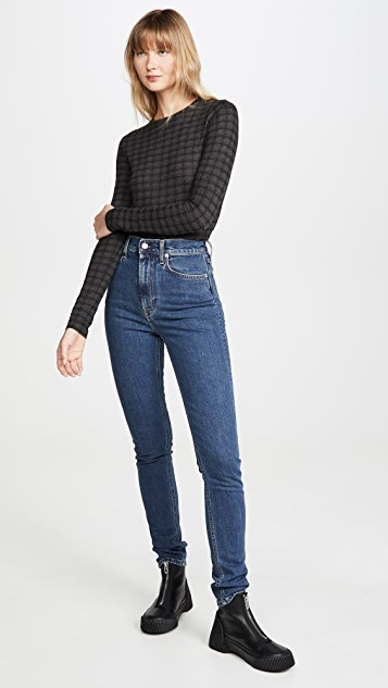 Vince Check Plaid Long Sleeve Shirt