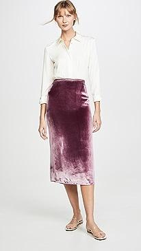 Panne Skirt