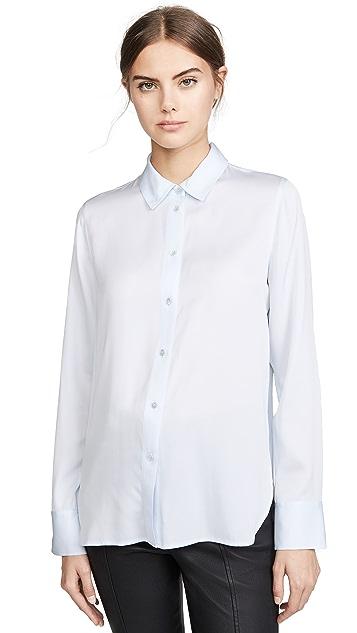 Vince 修身款女式衬衫
