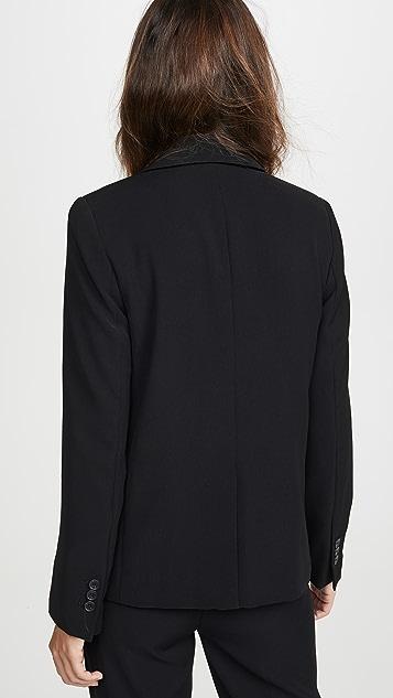 Vince 柔软绉绸西装外套
