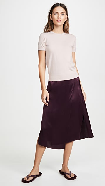 Vince Drape Panel Skirt