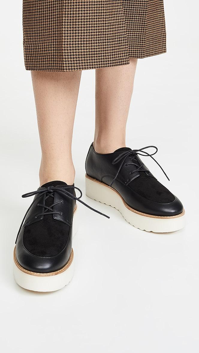 Vince Zina Lace Up Shoes | SHOPBOP