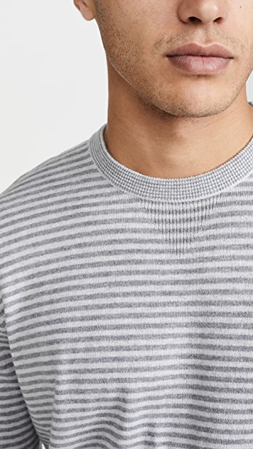 Vince Striped Sweatshirt