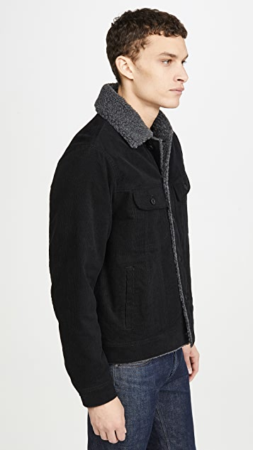 Vince Corduroy Sherpa Jacket