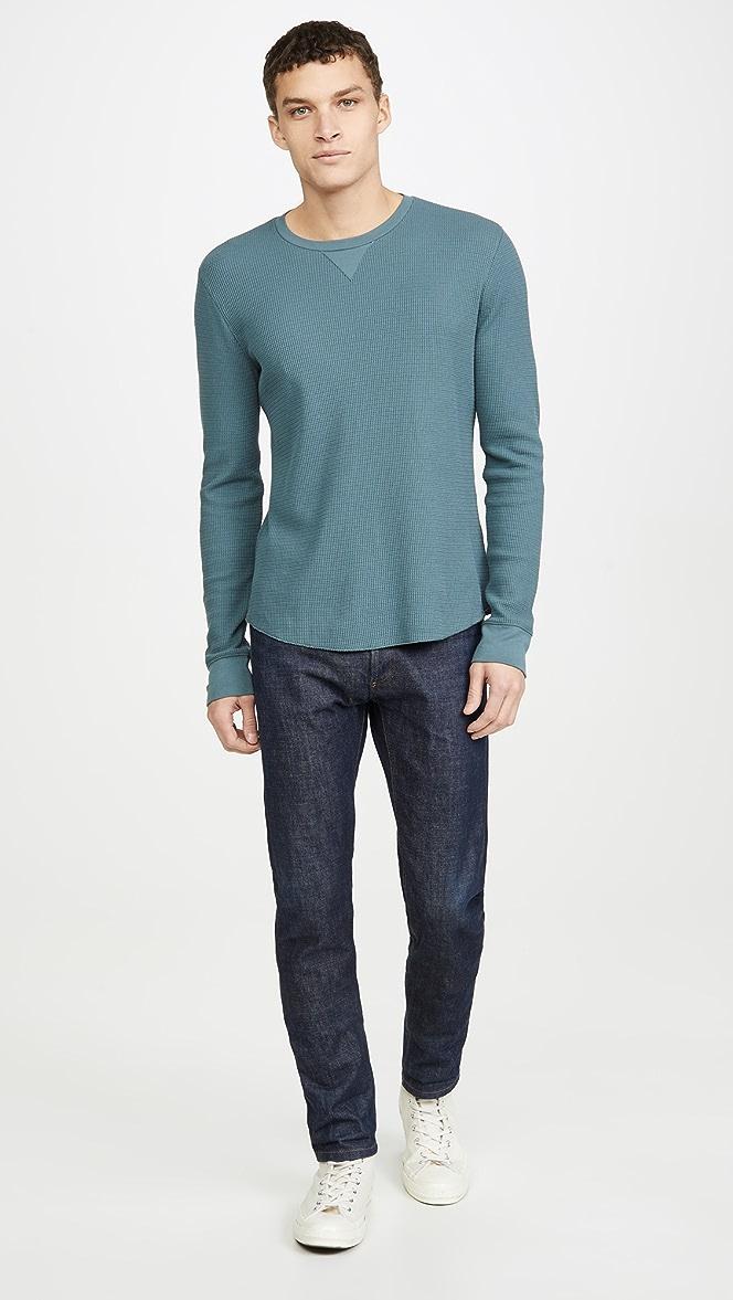 Vince Mens Long Sleeve Crew Neck Sweatshirt