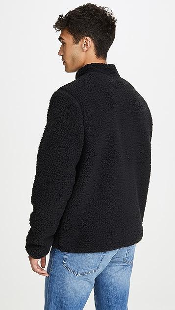 Vince Sherpa Mock Neck Pullover