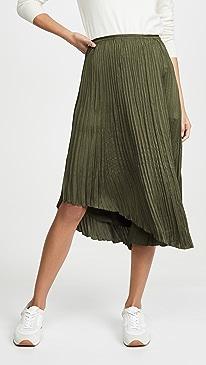 Crushed Drape Skirt