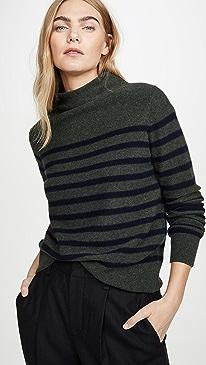 Brenton Stripe Cashmere Sweater