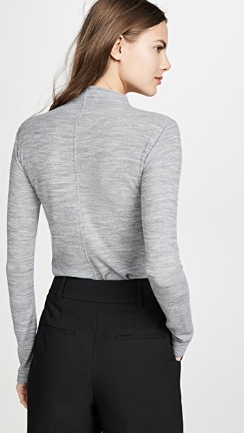 Vince Long Sleeve Funnel Neck Sweater