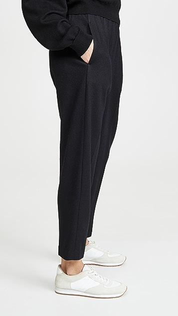 Vince Укороченные зауженные брюки без застежки