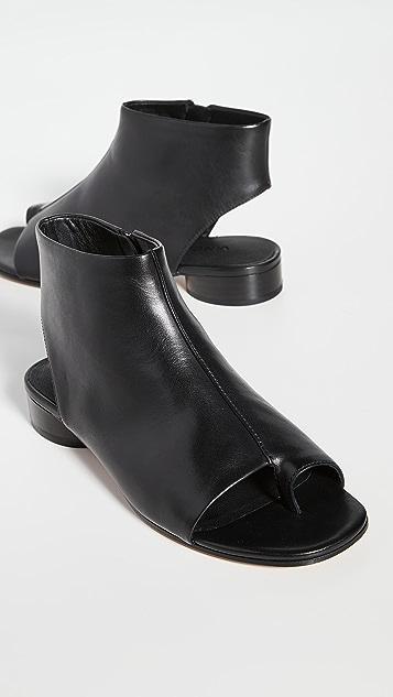 Vince Maro Open Toe Booties