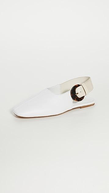 Vince Обувь на плоской подошве Cadot с ремешком на пятке
