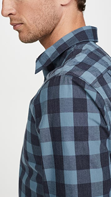 Vince Buffalo Check Plaid Shirt